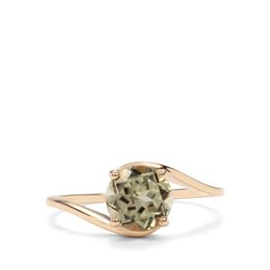 Csarite® Ring in 10K Gold 1.46cts