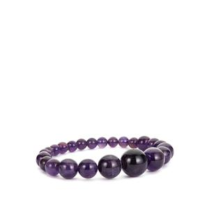 Amethyst Elasticated Bracelet 108cts