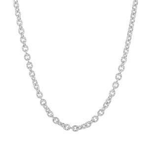 "24"" Sterling Silver Link Filo Slider Chain 4.31g"