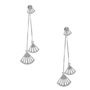Sterling Silver Earrings 4.58g
