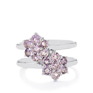 1.39ct Purple Scapolite Sterling Silver Ring