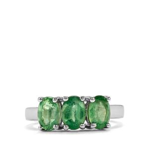 2.88ct Odisha Kyanite Sterling Silver Ring
