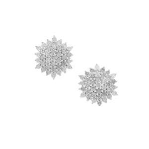 1/2ct GH Diamond 9K Gold Earrings