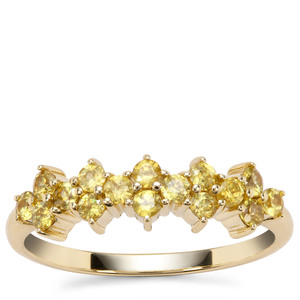 Ambilobe Sphene Ring in 9K Gold 0.78ct