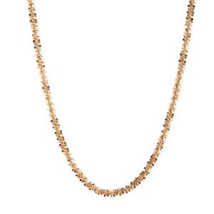 """24"""" 9K Gold Couture Criss Cross Chain 4.10g"""