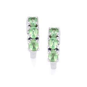 1.37ct Odisha Kyanite Sterling Silver Earrings