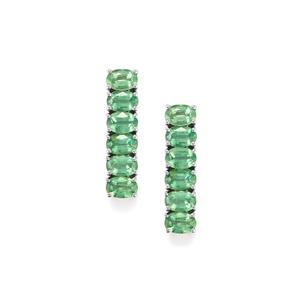 7.13ct Nuagaon Kyanite Sterling Silver Earrings