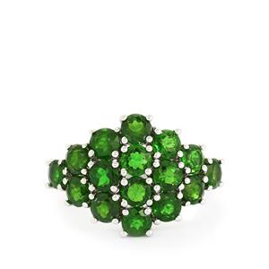 4.56ct Chrome Diopside Sterling Silver Ring
