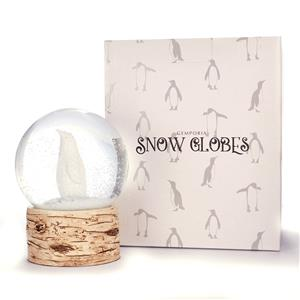 Penguin Snow Globe with Moonstones ATGW 50cts