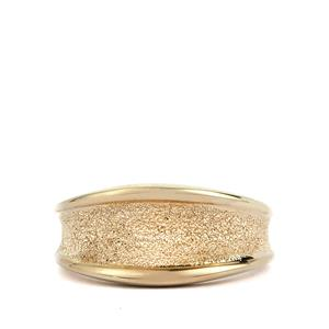 Viorelli Stardust Gold Plated Sterling Silver Ring