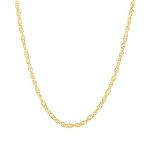 """24"""" Midas Classico Prince Of Wales Chain 1.70g"""
