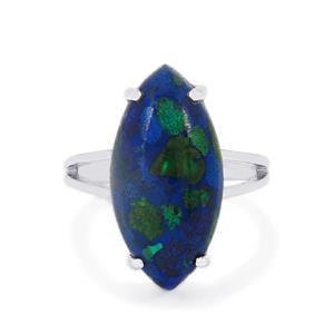 9.46ct Azure Malachite Sterling Silver Ring