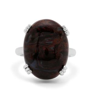 Arizona Pietersite Ring in Sterling Silver 16.30cts.