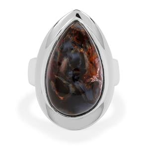 Arizona Pietersite Ring in Sterling Silver 11cts