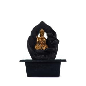 Gem Auras Gold Buddha Cascading Water Feature