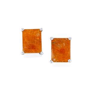 Rutilite Earrings in Sterling Silver 6cts