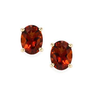 Rio Grande do Sul Citrine Earrings in 10k Gold 1.97cts