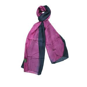 100% Silk Ombre Dyed Auroa Borealis Scarf