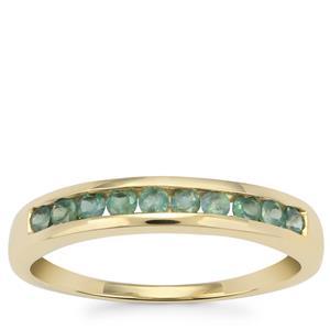 Alexandrite Ring in 10K Gold 0.39ct
