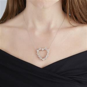 Serenite & Citrine Sterling Silver Reversible Necklace ATGW 10.76cts