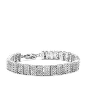10.23ct Ratanakiri Zircon Sterling Silver Bracelet
