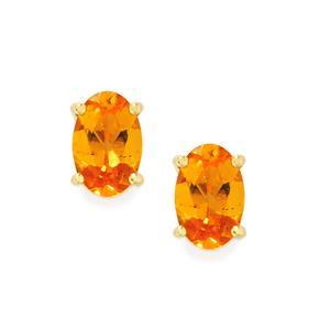 Tulelei Earrings in 9K Gold 1.08cts