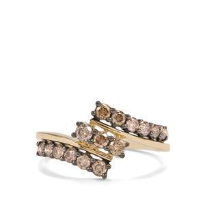 Argyle Diamond Ring in 10K Gold 0.78ct