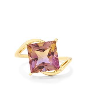 Anahi Ametrine Ring in 10k Gold 4.61cts