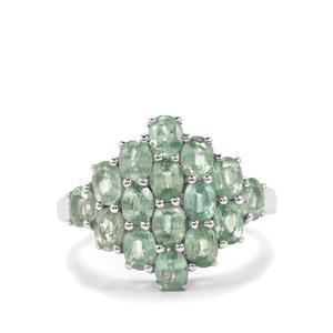 3.64ct Odisha Kyanite Sterling Silver Ring