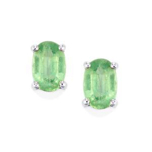 1.19ct Nuagaon Kyanite Sterling Silver Earrings