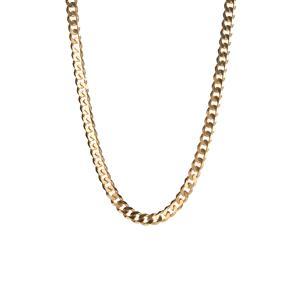 "18"" Gold Tone Sterling Silver Classico Curb Chain 28.72g"