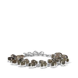 Labradorite Bracelet in Sterling Silver 29.71cts