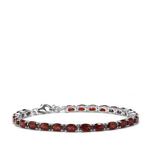 Rajasthan Garnet Bracelet in Sterling Silver 13.56cts