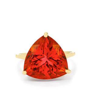 Cruzeiro Topaz Ring in 10k Gold 10.74cts
