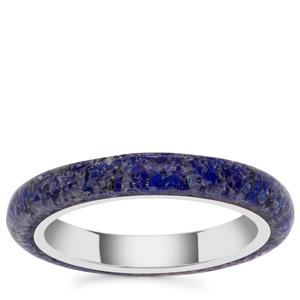 Sar-i-Sang Lapis Lazuli Ring in Sterling Silver 2.80cts