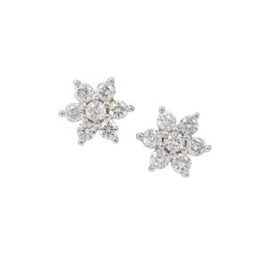 Diamond Earrings in 18K Gold 0.26ct