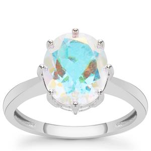 Mercury Mystic Topaz Ring in Sterling Silver 4.20cts