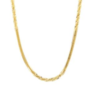 "24"" Midas Millennium Diamond Cut Chain 4.51g"