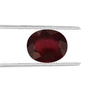 Malawi Garnet GC loose stone  4.95cts