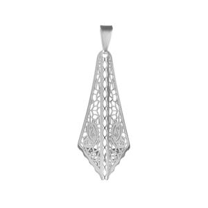 Bayeux Pendant in Sterling Silver 1.31g