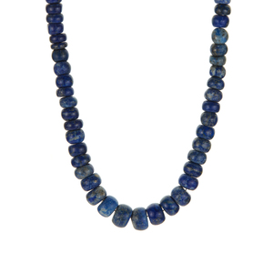 201.93ct Lapis Lazuli Sterling Silver Necklace