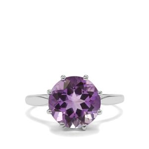 3ct Moroccan Amethyst Sterling Silver Ring