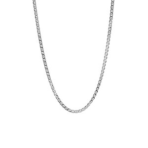"16/18"" Sterling Silver Tempo Flat Rambo Chain 4.51g"