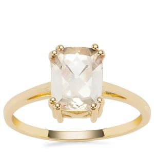 Serenite Ring in 9K Gold 1.97cts