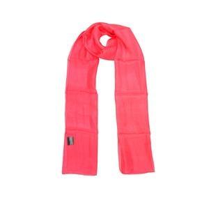 100% Silk Plain Dyed Fushia Scarf