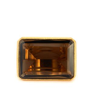 25.50ct Smokey Quartz 925 Sarah Bennett Ring