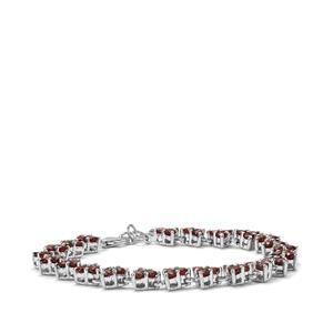 9.81ct Nampula Garnet Sterling Silver Bracelet