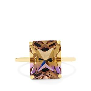 Anahi Ametrine Ring  in 10k Gold 5.45cts