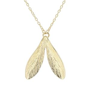 Necklace in Gold Plated Sterling Silver
