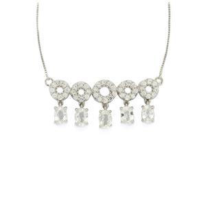 7.95ct Ratanakiri Zircon Sterling Silver Necklace
